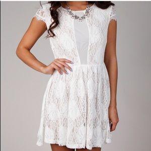 Ark & Co Dresses & Skirts - Ark & Co. Off white lace dress