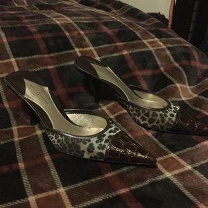 Studio Paolo Shoes - Paulo leopard print mules