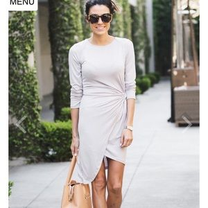 Ily Couture Dresses & Skirts - Grey Knit Dress