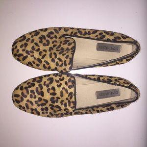 Steve Madden Leopard Cheetah Loafers Flats