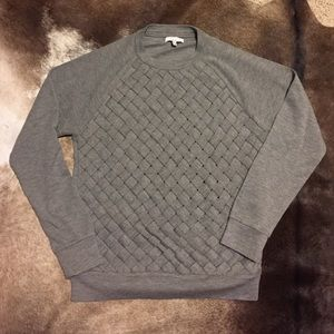 Adam Tops - Adam - Adam Lippes woven grey sweatshirt