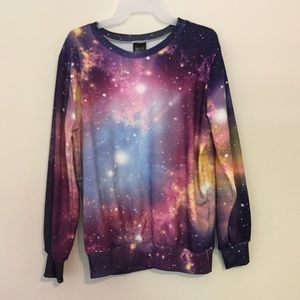 Tops - Galaxy Sweatshirt!