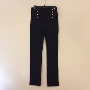 NWT Windsor High Waisted Stretchy Black Pants!