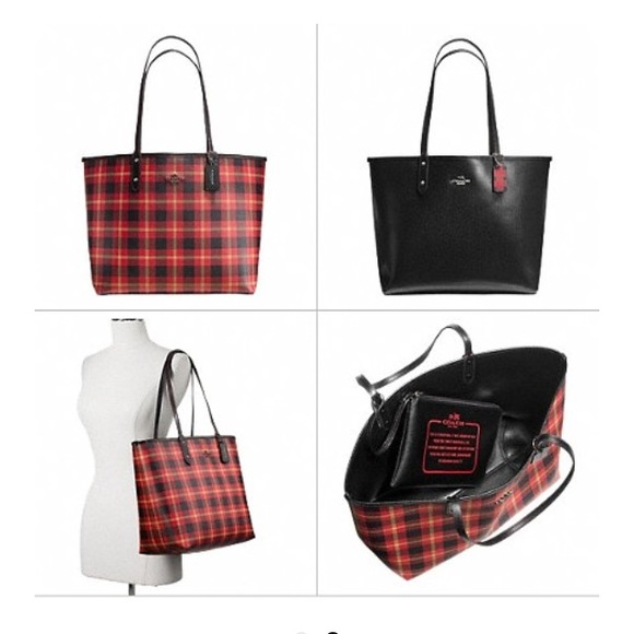 ❤️Reduced ❤️Reversible Coach Tote LARGE ba01ae43f4cd6