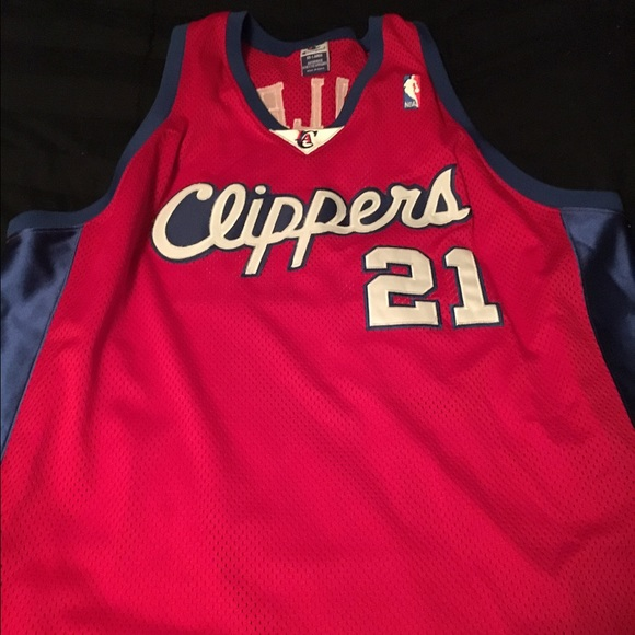 03f0233265e Champion Shirts | Los Angeles Clippers Darius Miles Jersey Authentic ...