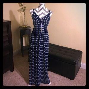 Faded Maxi Dress