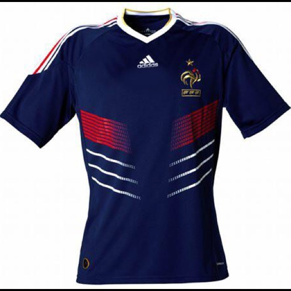 premium selection cfdc8 0b2c9 2010 FRANCE WORLD CUP JERSEY