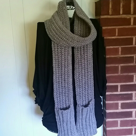 Coleyroleypoley Accessories Clearancecrocheted Scarf With