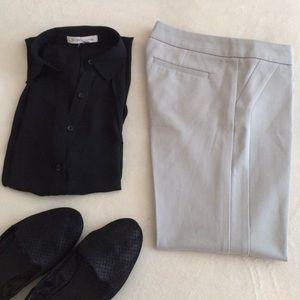 Cynthia Rowley Pants - Cynthia Rowley slim crop pants