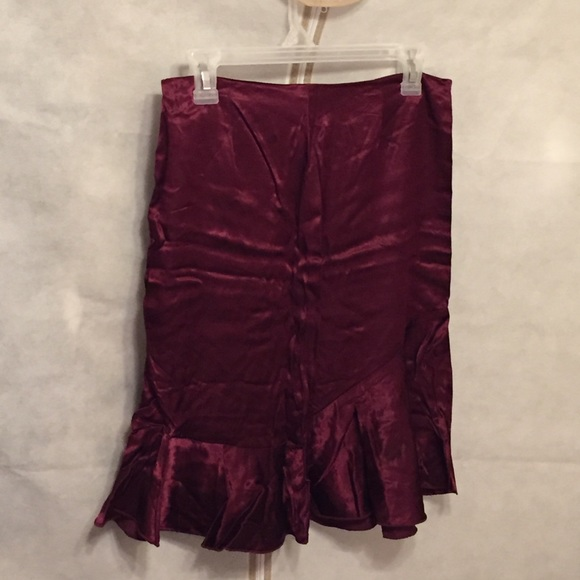 38% off A. Byer Dresses & Skirts - A. Byer Maroon A Line Skirt ...