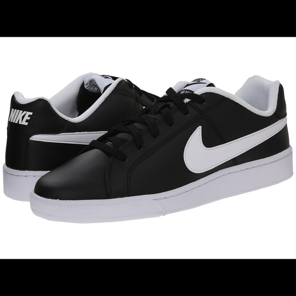 low priced 074d9 7906e Nike Court Royale Sneakers, black white, size 7.5.  M57f32c975a49d0a7d600caf6