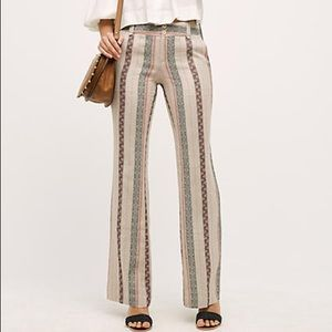 Anthropologie Pants - Final $ Anthropologie Striped Flares