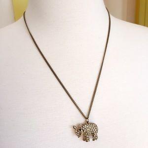 Jewelry - Lucky elephant necklace