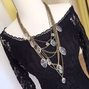 Jewelry - Beautiful layered statement necklace
