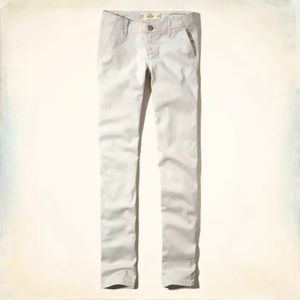 New Hollister Skinny Chino Khaki Pants 0R