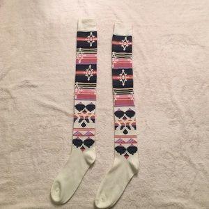 Accessories - Aztec/Geo Knee High Socks