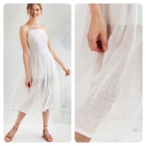 Urban Outfitters Objects Without Meaning Mesh Midi