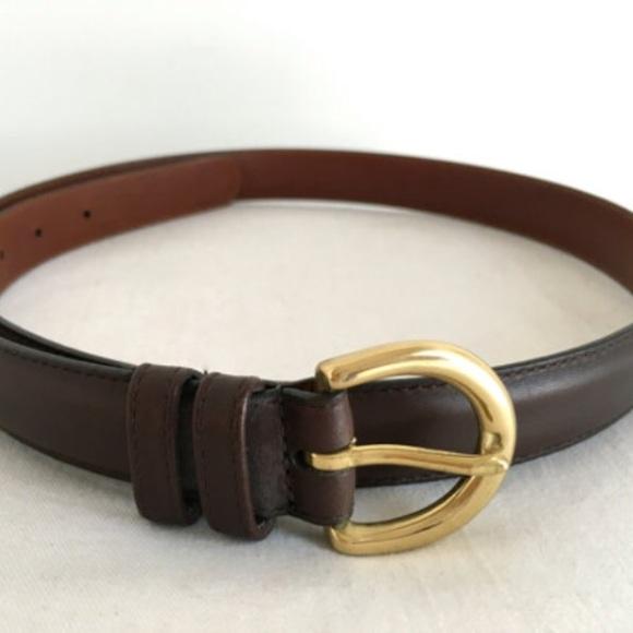 42e9a8c07e496 Coach Accessories - New Coach Mahogany Brown Leather Belt  8400