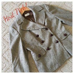 HP!! LOFT Classic Tweed Blazer