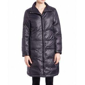 ⛔️ Eileen Fisher Funnel Neck Puffer Coat $438