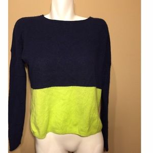 360 Cashmere Sweaters - 360 Cashmere Seattle Seahawks Color Sweater