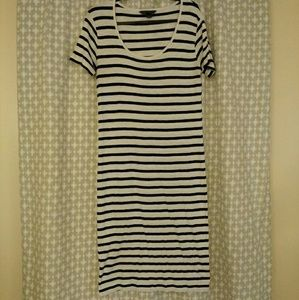 Perfect French Connection Cotton T-Shirt Dress