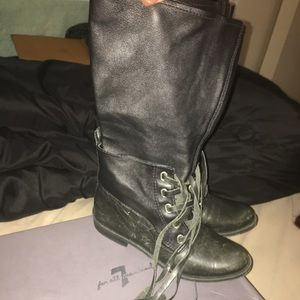 7 For all Mankind tall boots