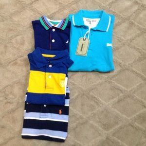 Other - Bundle of 4 Boys Polo shirts