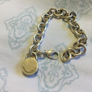 Original Tiffany and Co engraved bracelet