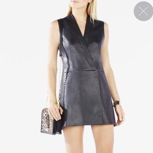 Leather Vest Dress from BCBG