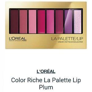 NEW L'Or?al La Palette Lip