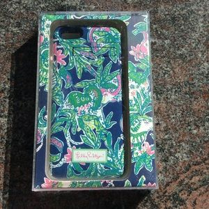 Lilly Pulitzer phone charging case 5/5s