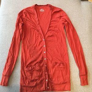 JCrew cardigan. Size small. 100% cotton