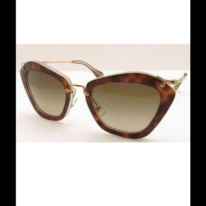 a77620f1bc4 Miu Miu Accessories - Miu Miu 10Ns Noir HAH1X1 Sunglasses