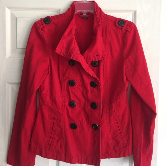 Rue21 - Military Style Red Jacket by Rue21 from Chelsea's closet ...