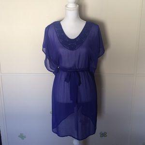 Mossimo Supply Co. Dresses & Skirts - Mossimo • Sheer Dress