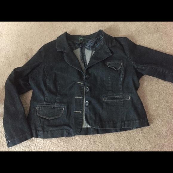 dd23f6e8f11f4 Lane Bryant Jackets   Blazers - Lane Bryant denim jacket