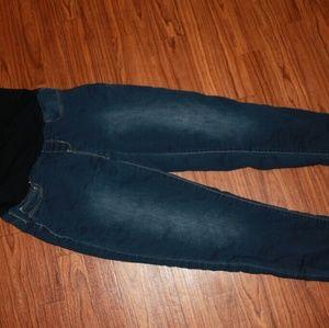 Large Maternity Skinny Jeans