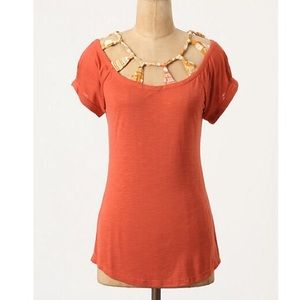 "Anthropologie ""Sarmiento Pane Tee"""