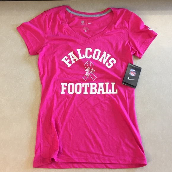 big sale 0e25d dac9c Nike breast cancer awareness Atlanta Falcon tshirt