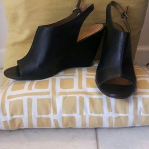 Nine West Strap Wedges