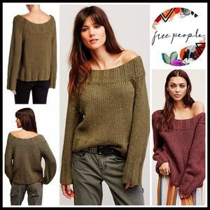 Free People Sweaters - ❗1-HOUR SALE❗FREE PEOPLE PULLOVER SWEATER