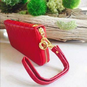 Melie Bianco Handbags - MELIE BLANCO Vegan Leather Wristlet