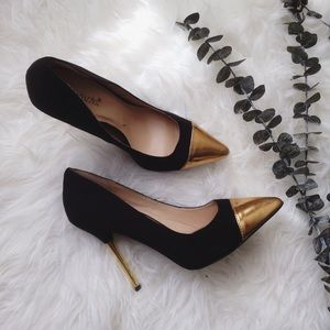 Shoe dazzle suede pumps NEW size 7.5