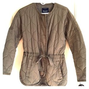 Madewell Quilted Army Jacket