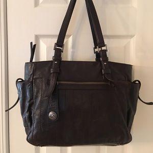 Francesco Biasia Handbags - 🛍 Francesco Biasia Brown Large Leather Tote Bag