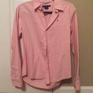 Pink Ralph Lauren Oxford