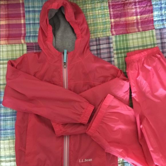 07737a1fd LL Bean Jackets & Coats | Kids Discovery Raincoat And Rain Pants ...
