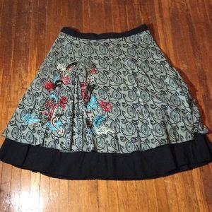 Vintage style full skirt