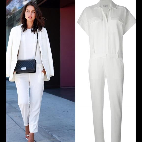 IRO jumpsuit winter white Nwt Sz 6 00fd0e7a7ea7